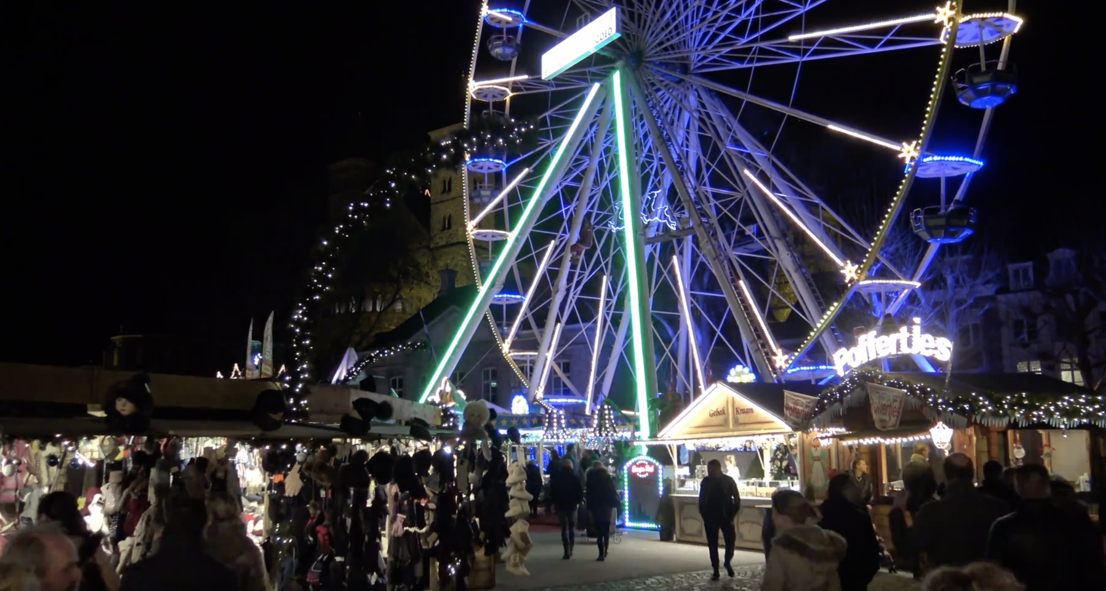 video kerstmarkt maastricht